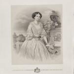 Анастас Јовановић, портрет Јулија Обреновиц, 1854