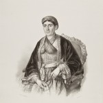 Анастас Јовановић, портрет Љубица Обреновић,1851