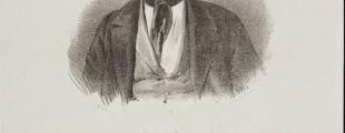Анастас Јовановић, портрет Димитрије Аврамовић, 1858