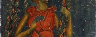 Страшни суд, персонификација, Богородица Љевишка