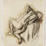 Едгар Дега, Женски акт, угљен и пастел, 1896 (1)