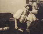 Едгар Дега, Пол Пужо, г-ђа Артур Фонтејн и Дега, око 1895