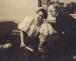 Едгар Дега 34 Пол Пужо, г-ђа Артур Фонтејн и Дега, око 1895