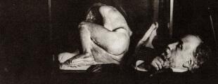 Едгар Дега 37 Аутопортрет са Бартоломеовом скулптуром Уплаканом девојком , 1895