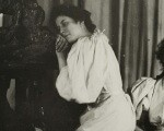 Едгар Дега 44 Аутопортрет са Кристином и Ивон Лерол, 1895-1896