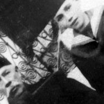 Ибрахим- ага Дева (1860–1938) и његов син Џафер (1904–1978), фотографисани у Косовској Митровици, пред Први светски рат_