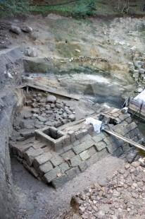 Кале Кршевица - Јужни-део-подграђа-са-резервоаром-за-воду