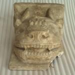 Конзола, глава рогате звери,1327-35, Дечани