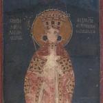 Краљица Симонида, копија фреске, Грачаница, 1321, НМБ