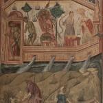 Први грех и истеривање из раја, 1565, Пећка патријаршија, припрата, НМБ