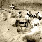 Радна фотографија ископавања Старчева у сезони 1932.