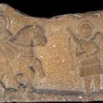 Св. Ђорђе убија аждају, XVII век, Ораховац, НМБ