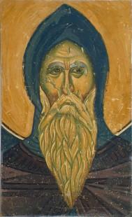 Симеон Немања, детаљ, Богородица Љевишка