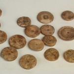 жетони за игру, кост, инв. бр. D 960, II век