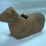 зооморфна посуда, глина, инв. бр. D 477, II век