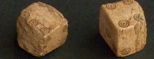 коцке за игру, кост, инв. бр. D 958, I- III век