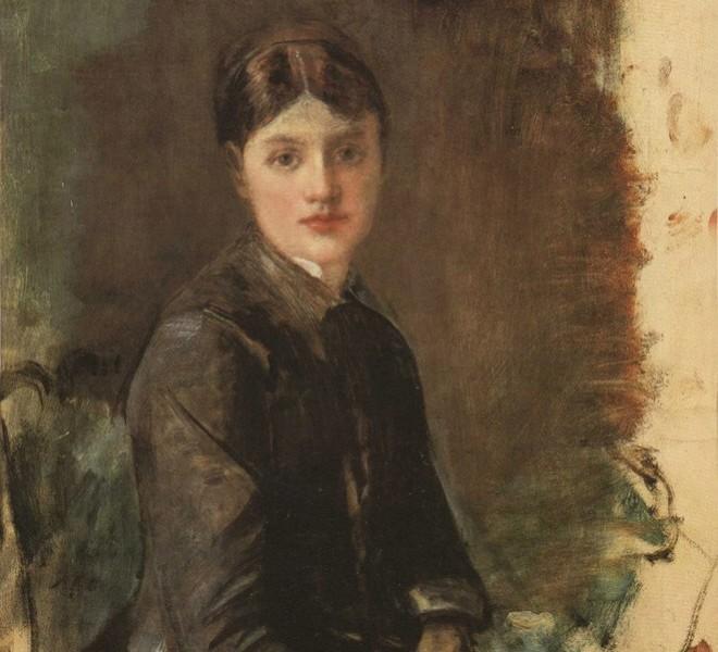 Портрет младе жене / Госпођица Ривијер, Анри де Тулуз-Лотрек