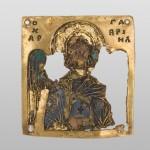 Арханђео Гаврило, Манастир Хиландар, 11. век, злато, емаљ