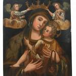 Икона Богородица са Христом, 17. век