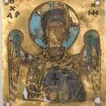 Арханђео Михаило, Манастир Хиландар, 11. век, злато, емаљ