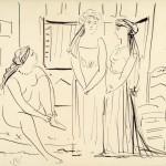 Пабло Пикасо, Жене у ентеријеру, 1926.