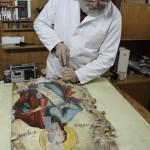 Реконструкција оквира иконе Теодора Крачуна из Збирке српског сликарства 18. и 19. века