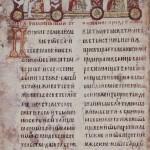 Мирослављево јеванђеље, крај 12. века, пергамент, кожни повез