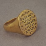 Прстен краљевића Радослава, 1219-20, злато, ниjело