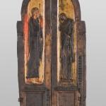 """""""Андреашке"""" двери Св. Николa, Шишево, друга половина 14.века, темпера на дрвету"""