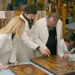 Rad na ikonama iz Zbirke poslevizantijske umetnosti