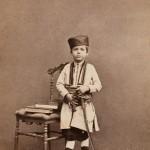 Јанко Вукомановић у црногорској ношњи са сабљом, рад бечког фотографа Х.Хармсена, 19.век