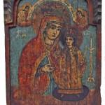 Богородица, централни део триптиха, 19. век