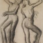 Едгар Дега, Балерина у трикоу, око 1890.
