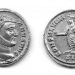 Диoклeциjaн (284-305), aурeус (злато), ковница: Сисaк