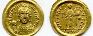 Justinijan I (527-565), AU solid
