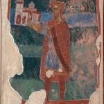 Портрет ктитора, Зетски краљ Михаило Војисављевић, црква св. Михаила у Стону 1080 година