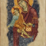 Богородица Елеуса са Христом Крмитељем, Богородица Љевишка, трећа деценија 13. века