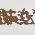 Одежда цара Ивана Александра, фрагменти, Св. Никола, Станичење, 1331-71, свила, вез позлаћеном и сребрном жицом