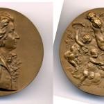 Откривање Моцартовог споменика у Бечу 1896, А. Шарф (A. Scharff), Бронза