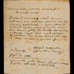 Доситејево писмо Правитељствујушчем совјету, Чаково, 1806.године