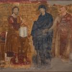 Ктиторска композиција, Милешева 1220-1228 година