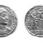 Maгнeнциje (350), солид (злато), ковница: Аквилеја