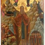 Икона св. Јована Пустињака, 16. век