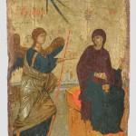 Двојна икона: Благовести, трећа четвртина 14. века