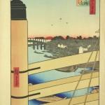 Хирошиге Утагава, Нихон мост и Едо мост, 1857/1917.