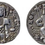 Краљ Стефан Урош II Милутин (1282-1321), AR динар