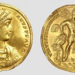 Вaлeнтиниjaн I (364-375), мултипла (18 солида) (злато), ковница: Константинопољ