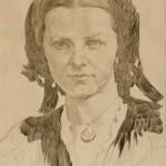 Паја Јовановић, Портрет уметникове мајке (око 1880)