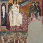 Анђео на христовом гробу, Милешева, 1297