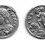 Вaлeнс (364-378), солид (злато), ковница: Солун